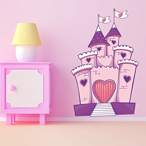 Pegatinas de castillo – NW490-60 x 96 cm