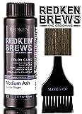 Redken Brews COLOR CAMO 5 Minute Custom Gray Camoflauge Hair Color (with Sleek Tint Brush) (Medium Ash)