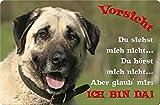 +++ SIVAS KANGAL - Metall WARNSCHILD Schild Hundeschild Sign - SVK 22 T2