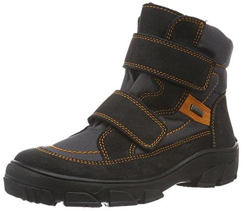 Richter Kinderschuhe Jungen Kite Boots, Grau (Steel/Stone/Mandarin 6501), 31 EU