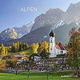 Alpen 2020 - The Alps - Broschürenkalender (30 x 60 geöffnet) - Wandkalender - Landschaftskalender - Wandplaner
