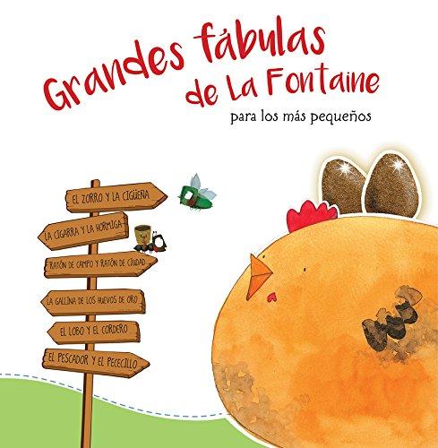 Grandes fábulas de La Fontaine para los más pequeños (Antología de cuentos cortos)