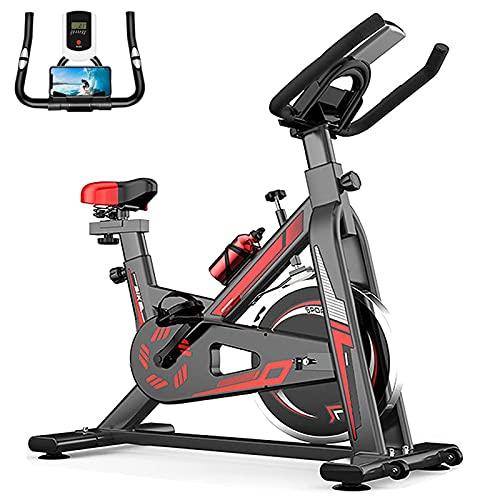 WOERD Home Indoor Gym Bicicleta de ejercicio Fitness Cardio Entrenamiento de máquina de entrenamiento,inteligente con pantalla LCD Sensor de frecuencia cardíaca Spin Bicicleta de ejercicio...