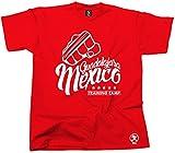 Dibbs Clothing MMT-CAN03 - Camiseta o sudadera con capucha para entrenamiento de Mexico Rojo rosso L
