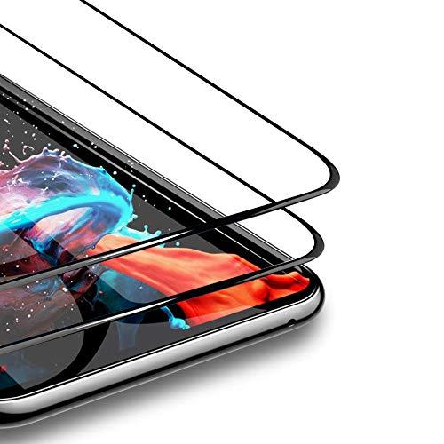 FMPC [2 Piezas Protector de Pantalla para Samsung Galaxy S9 Plus, película Protectora Cristal de Vidrio Templado 9H de Dureza, Cobertura Completa Total 3D Alta Definicion Anti-Burbujas Anti-Arañazos