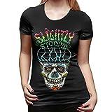 Photo de U are Friends Slightly-Stoopid T-shirt à manches courtes pour femme Taille XXL Noir