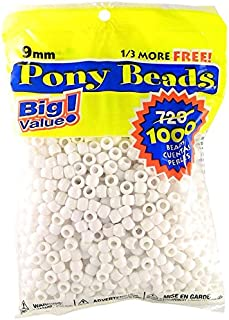 Best white beads for hair Reviews