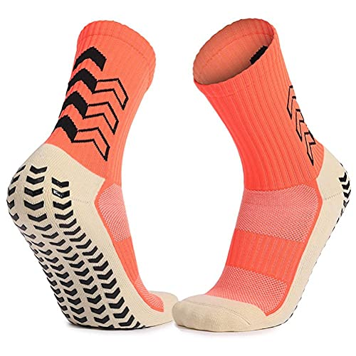 Hidyliu Calcetines de tobillo antideslizantes, antideslizantes para hombres y mujeres, transpirables, unisex, para fútbol, baloncesto, béisbol, correr, senderismo, ciclismo