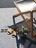 Premium Rasenteppich Meterware GREEN - Grau, MUSTER, Vlies-Rasen mit Noppen, Pool-Unterlage Poolmatte, Outdoor Teppich, Bodenbelag für Balkon, Terrasse & Aussenbereiche - 4