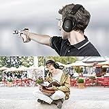 Ear Muffs Headband Mpow Sicherheit Ohrenschützer SNR 34 dB Gehörschutz - 7