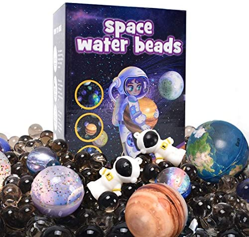 AINOLWAY Space Water Beads Kit Non Toxic Sensory Toy for Kids Educational STEM Outer Space Exploration product image