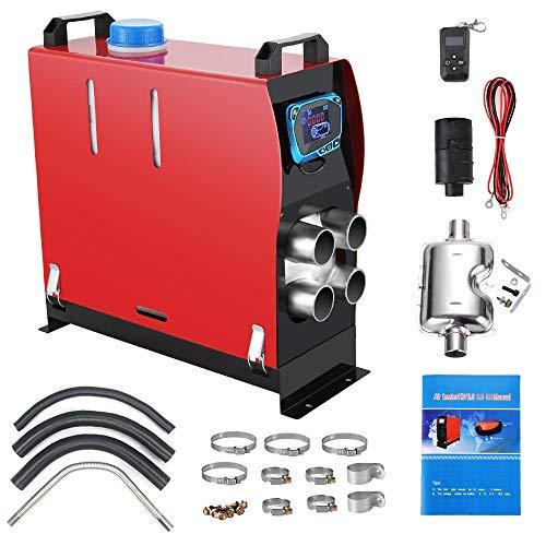 Anbull Calentador de Aire Diesel 12V 8KW Calentador de Combustible Calefacción Estacionaria Diesel...