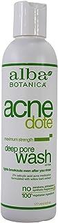 Alba Botanica Alba botanica acnedote deep pore wash, 6 ounce bottles (pack of 2)