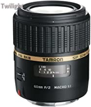 Tamron SP 60mm f/2 Di II 1:1 Macro Lens for Sony A