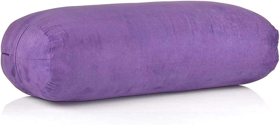 ALEILA Coussin de méditation Zafu, Oreiller rectangulaire remplissant de Tube pour l'appui général de shiatsu de méditation de Yoga,1