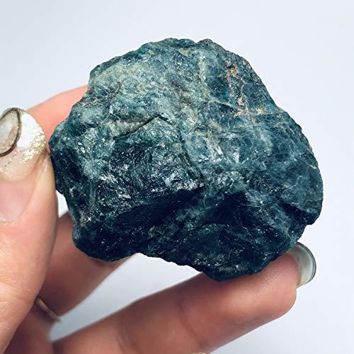 ABCBCA primas Naturales de apatita Azul espécimen de Piedra