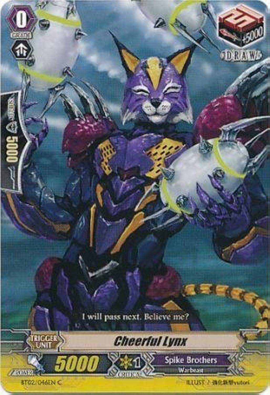 Cardfight   Vanguard TCG - Cheerful Lynx (BT02 046EN) - Onslaught of Dragon Souls by Bushiroad Inc. B00TT7M7PQ eine große Vielfalt  | Fuxin