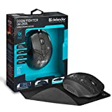 NSInew DEFENDER Backlit Wired Gaming Mouse – PC...