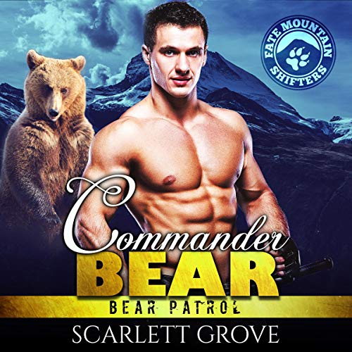 Commander Bear audiobook cover art