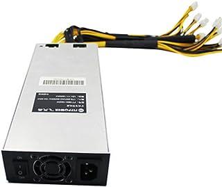 Kehuashina Fuente de alimentación del Platino 2000w para la máquina del minero de la minería de Bitcoin Antminer S7 S9 12....