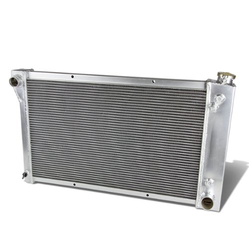 DNA Motoring RA-CHEVYT67-L6-3 3-Row Full Aluminum Radiator