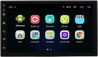 Zwbfu 7 polegadas compatível com sistema Android 8.1 16G tela tocada com tela de alta definição para carro Bt MP5 player u...