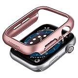 Spigen Thin Fit Kompatibel mit Apple Watch Hülle für 40mm Serie 6/SE/5/4 - Roségold