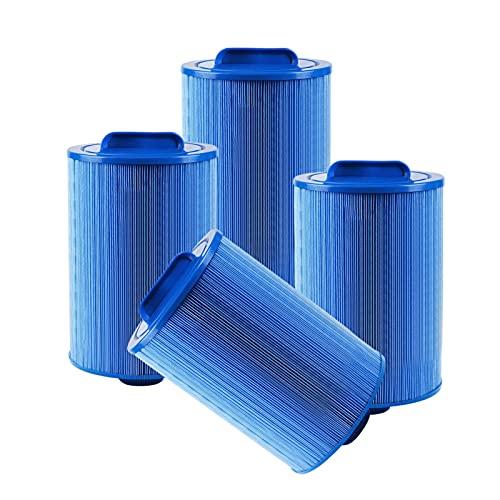 CHJAA Filtro Antibacteriano Bañera Hidromasaje, Elemento Filtrante Recambio Compatible Masajeador Hidromasaje, para...