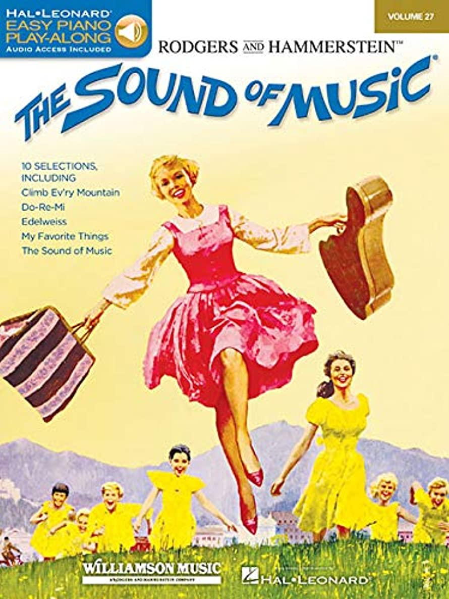 The Sound of Music: Easy Piano Play-Along Volume 27 (Easy Piano Cd Play-along)