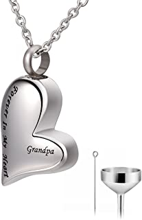 Best cremation jewelry for grandpa Reviews
