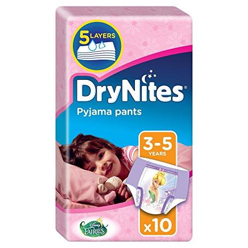 Huggies Drynites Pyjamahose für Mädchen, 3-5 Jahre