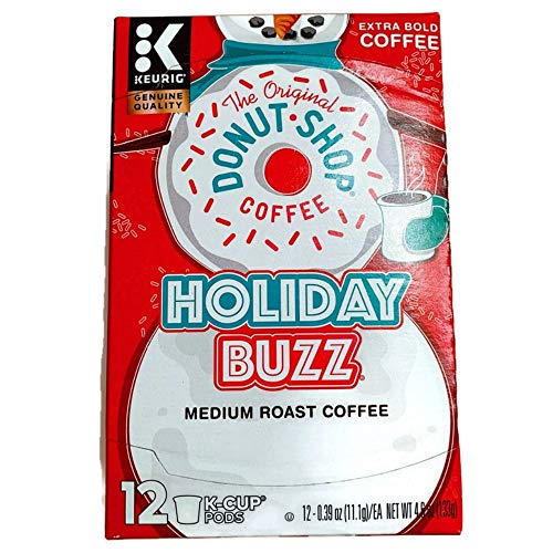 The Original Donut Shop Holiday Buzz Coffee K-Cup Pods 96 Count Now $23.75