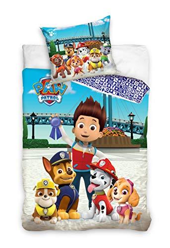 Familando Juego de ropa de cama reversible con 100% algodón 135 x 200 cm Multicolor