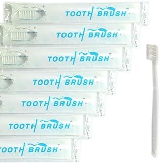 業務用 使い捨て(インスタント) 粉付き歯ブラシ(100本組) 予備付き