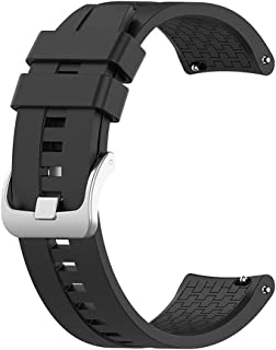 Sport Silicone Band Strap, Matte, Bracelet Watch Band, Accessory Band, Size (22MM) for Huawei Watch GT1, GT2 46MM / Samsun...