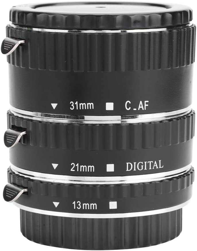 Auto Focus Macro Extension Tube Set 31mm Max 62% OFF Quality inspection 21mm M AF 13mm Lenses