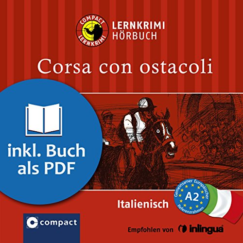 Corsa con ostacoli audiobook cover art