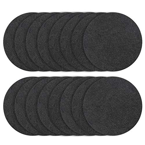 New Foraineam 16-Pack Charcoal Filters Odor Absorbing Activated Carbon Compost Bin Replacement Filte...