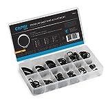 Capri Tools 10042 Professional External Snap Ring Assortment, Ultra-Strength High Carbon S...