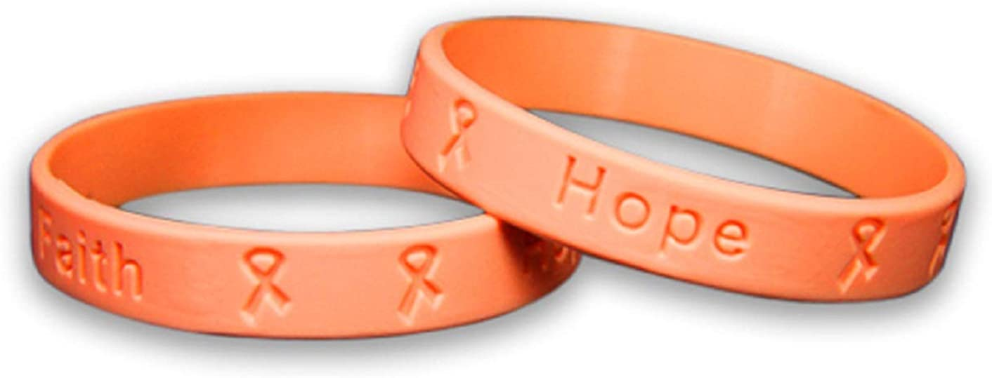 Fundraising For sold out A Inexpensive Cause Peach - Silicone P Awareness Bracelets