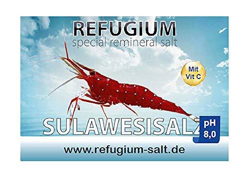 REFUGIUM Spezial ReMineral Sulawesisalz pH 8.0 - Garnelensalz für Osmosewasser, 250 g