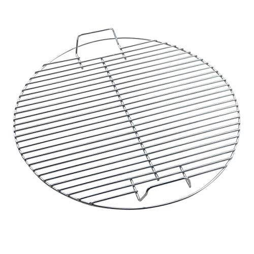 TOMYEER Grille de Cuisson Ronde pour Barbecue