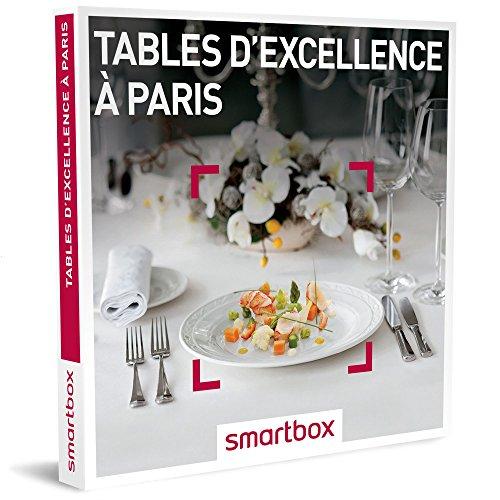 Coffret Smartbox Tables d'excellence à Paris