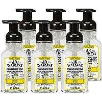 6-Pack J.R. Watkins Foaming Lemon Scented Hand Soap, 9 fl oz
