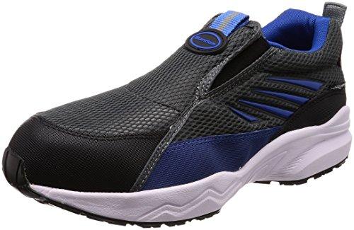 [マルゴ] 安全靴 作業靴 鋼製先芯 スリッポン JSAA A種 耐油 4E マンダムセーフティー 775 GY 30.0cm(30cm)
