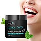 Clearance Sale! Exteren Teeth Whitening Powder Natural Activated Charcoal Whitening Tooth Teeth Powder Toothpaste (Black)