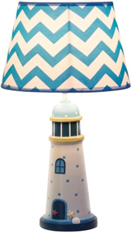 XiuXiu Kinderzimmer Cartoon Wei Licht Tischlampe Schlafzimmer Nachttischlampe Modern Fashion Cute Warm Junge Mdchen Dekorative Tischlampe (Gre   L)