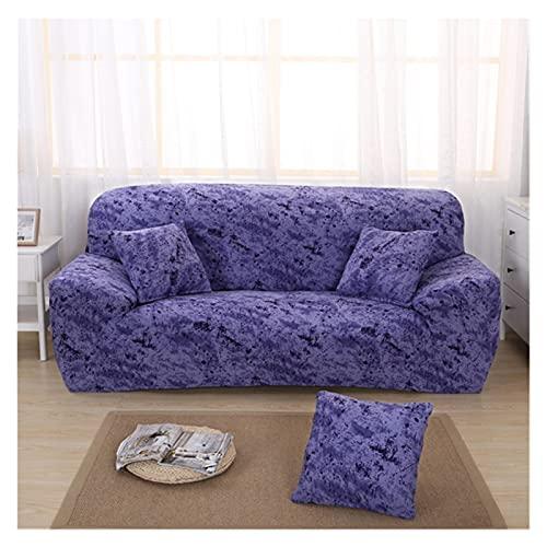QYSM Cubierta Universal del sofá para la Sala de Estar, la Cubierta de sofá Flexible, la Cubierta del sofá Modular, la Cubierta del sillón 1/2/3/4 Asiento Poliéster