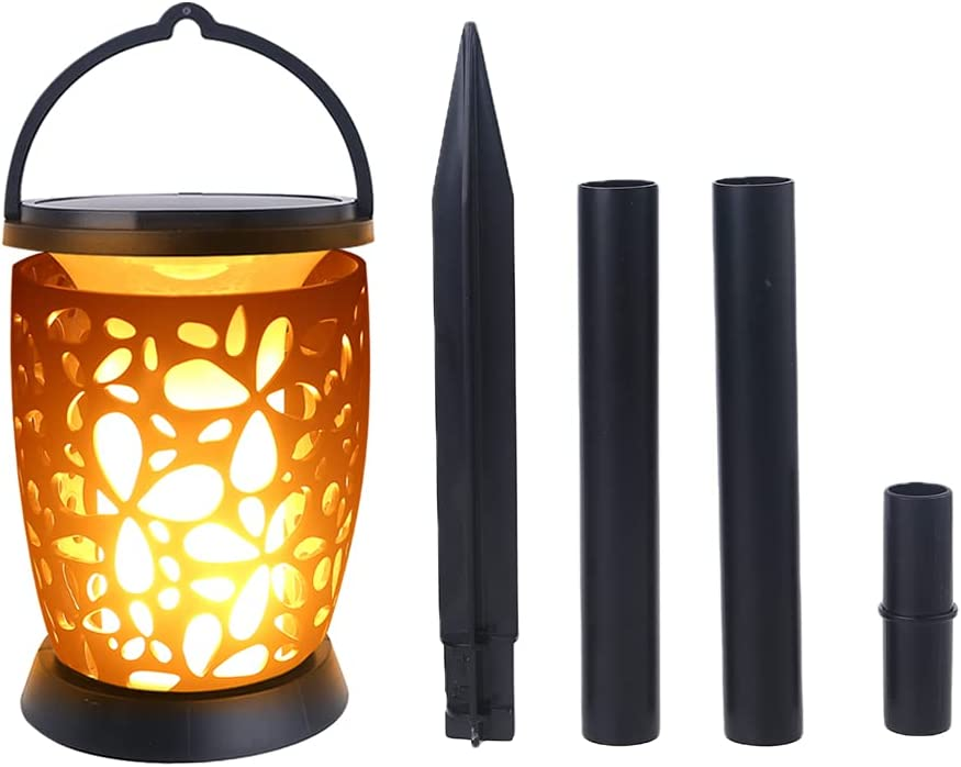 55% OFF Yazierstyuor Decorative Lighting Solar LED Lamp B Light Flame 96 Challenge the lowest price