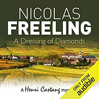 A Dressing of Diamonds audiobook cover art